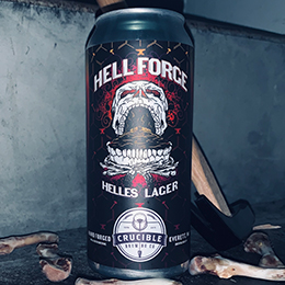 Crucible Brewing Hell Forge Lager