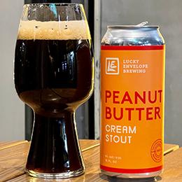 Lucky Envelope Brewing Peanut Butter Cream Stout