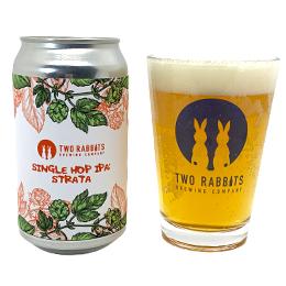 Two Rabbits Brewing Co. Single Hop IPA: Strata/シングル ホップ IPA: ストラータ