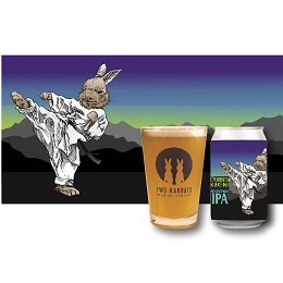 Two Rabbits Brewing Co. Rabbit Kick Mountain IIPA/ ラビット キック マウンテン IIPA