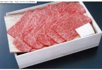 【人形町今半】国内産黒毛和牛 (モモ肉)焼肉用詰合せ