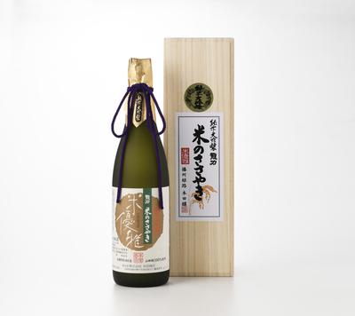 【龍力】 純米大吟醸 米のささやき 米優雅  【ご注文は千葉県在住のお客様に限ります】