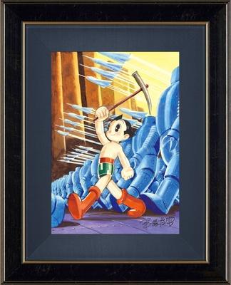 手塚治虫版オリジナル版画「アトムの行進」
