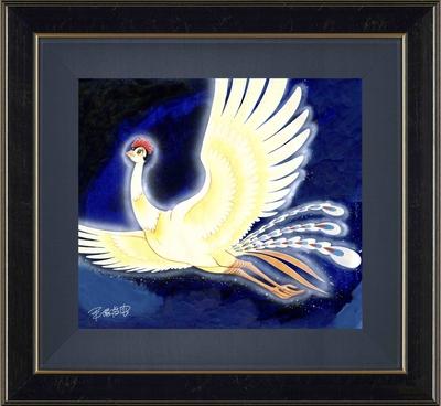 手塚治虫版オリジナル版画「火の鳥」