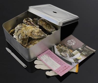 【仙台・石巻デリバリー】三陸漁師のカンカン焼きセット 牡蠣小サイズ12個