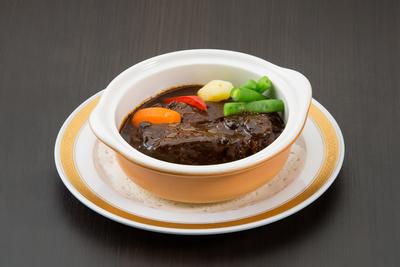 国産牛タンのデミグラスシチュー