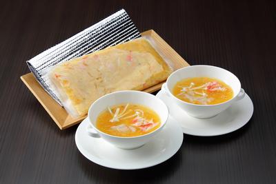 上海蟹とフカヒレのとろみ煮