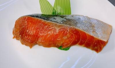 銀鮭昆布醤油づけ