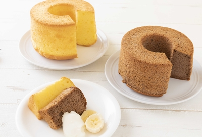 しっとりふわふわシフォンケーキ 2種セット