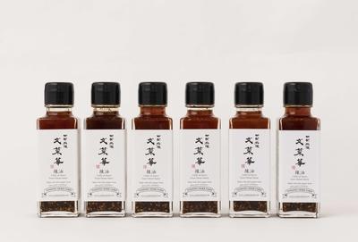 文菜華 オリジナル辣油 6本入り