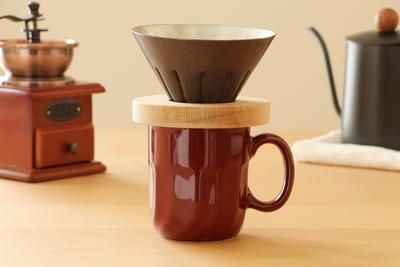 ぬくもりの銅製コーヒードリッパー