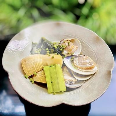 京筍と蛤の旨煮 -2人前相当- 会員価格11,580円(税込)