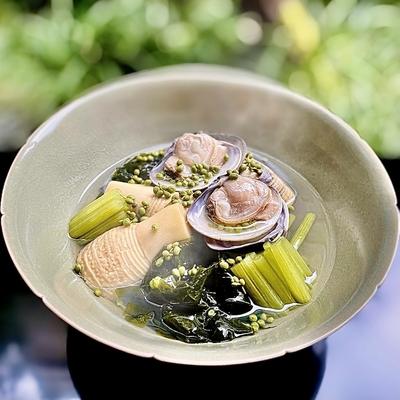 京筍と蛤の旨煮 -4人前相当- 会員価格14,920円(税込)