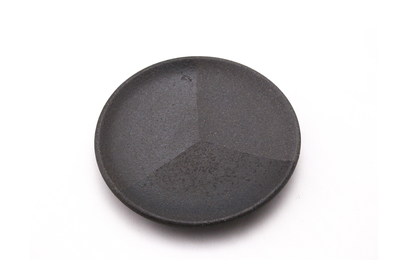 【芝雪】3寸皿 (染分け)