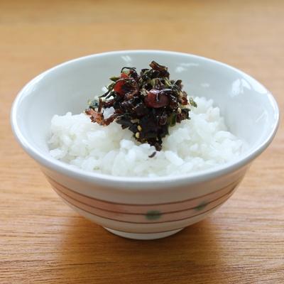野沢菜カリカリ梅 95g (トレー入り)