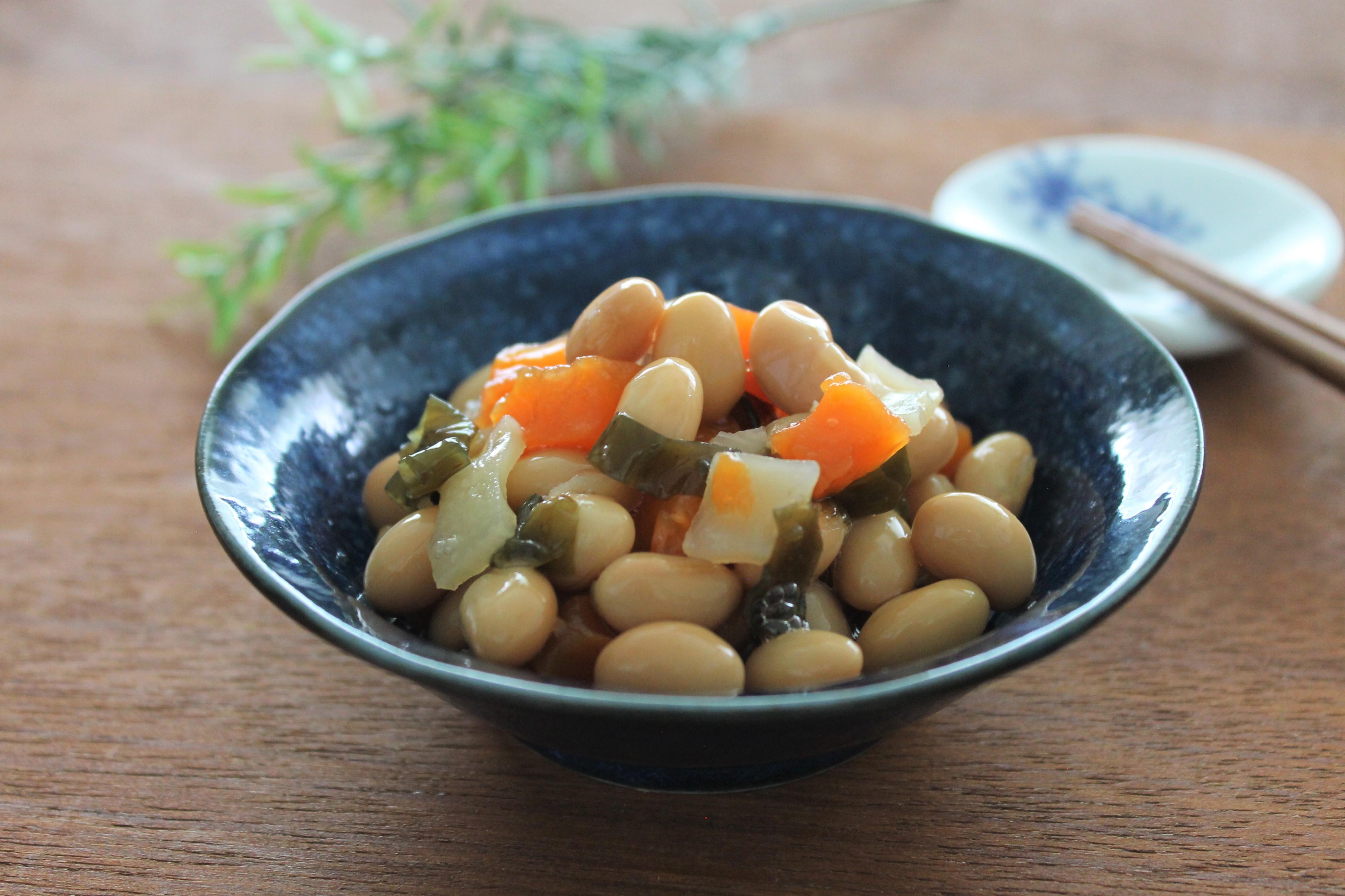 食べきり五目豆