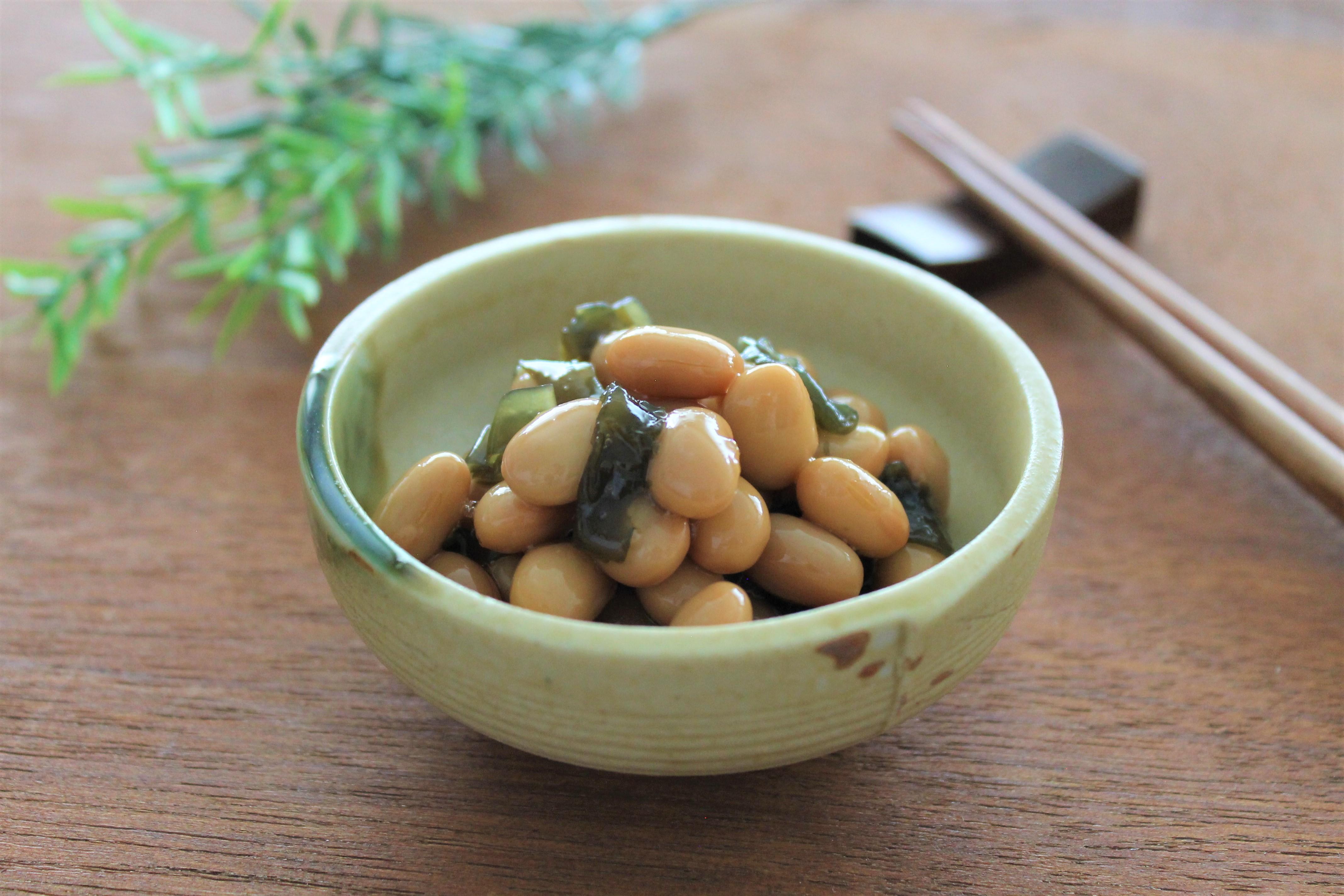 食べきり昆布豆