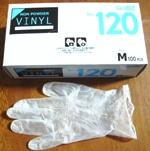ビニール手袋(ノンパウダー)