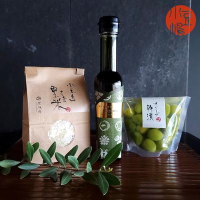 真里のオリーブご飯セット【C】オーガニック