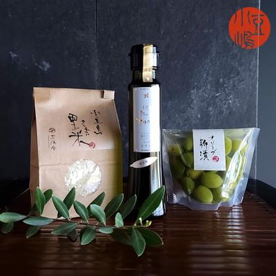 真里のオリーブご飯セット【A】ルッカ