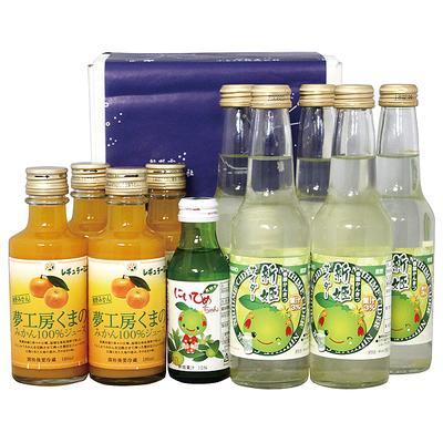 ⑨熊野柑橘ドリンクセット(おまけ付)