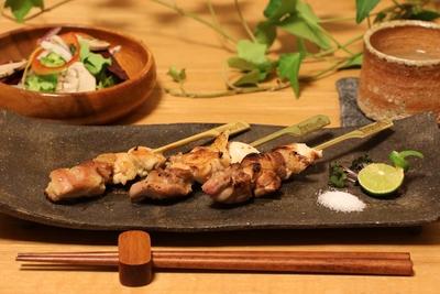 【本格焼鳥】熊野地鶏焼き鳥串 5本