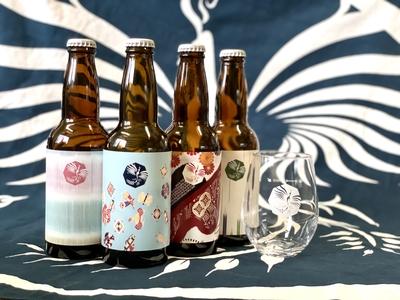 ビール4種(定番3種+いちご)&タンブラーセット