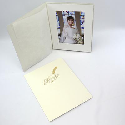 ポートレート台紙No.80 6切 (六切)サイズ  1面タテ ( 和紙付 )