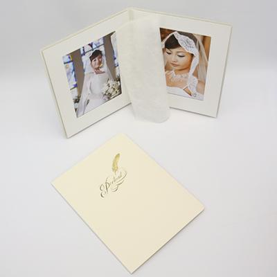 ポートレート台紙No.80 6切 (六切)サイズ  2面タテ ( 和紙付 )