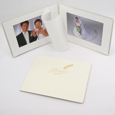 ポートレート台紙No.80 6切 (六切)サイズ  2面ヨコ ( 和紙付 )