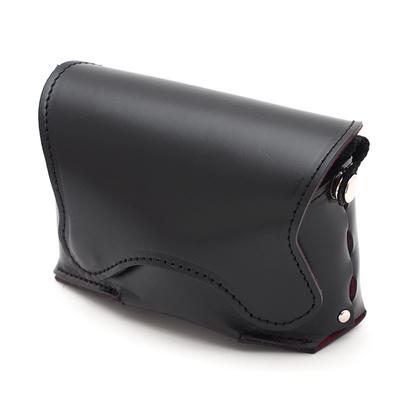 レザーカメラケース オルフェ01 黒 LCO-01-BK