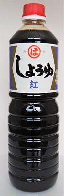 九州こいくち醤油(紅印)1L