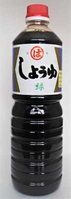 九州こいくち醤油(緑)1L