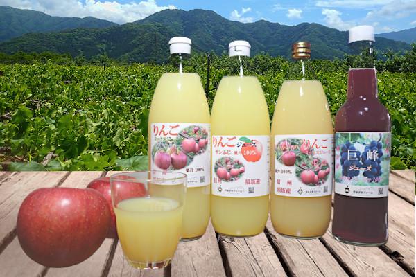 高級フルーツをまるごとしぼった果汁100%のフルーツジュース