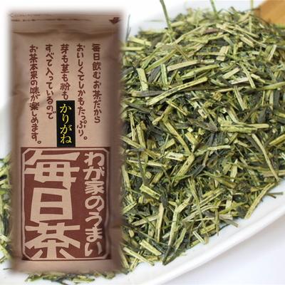 【お得用】お茶の川村園オリジナル静岡茎茶「かりがね毎日茶」250g(単品)