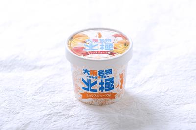 カップアイスミックスジュース