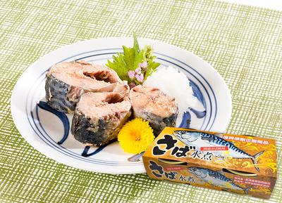 さば水煮(180g×2缶入)