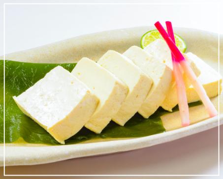 昆布〆豆腐