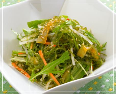 昆布とクラゲの中華サラダ