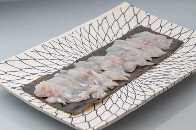 手間暇かけた 白身魚の昆布〆:約2人前