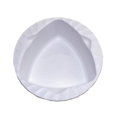 トライアングルトライ ポリプロピレン深皿