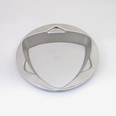 トライアングルトライ IKD抗菌 ステン浅皿 18cm