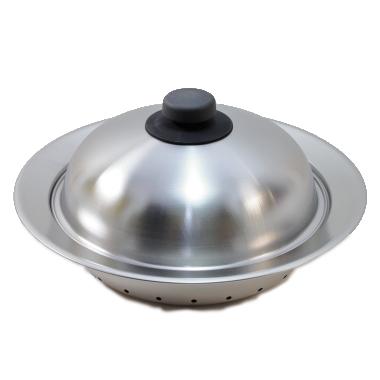 お鍋にのせて簡単蒸しプレート ドーム型 20㎝~22㎝