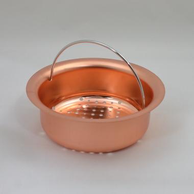 排水口ゴミ受け(皿型)絞り