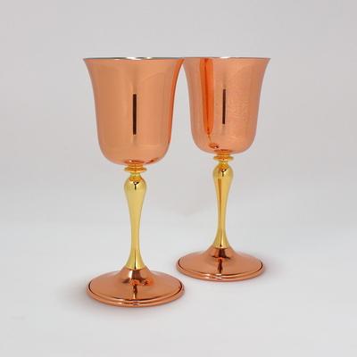 銅ワインカップ ベル2個組