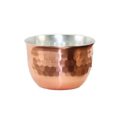 華ぐいのみ 90ml 鎚目 銅ミラー