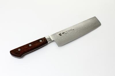 響十 菜切160mm 強化木柄 KP-1116