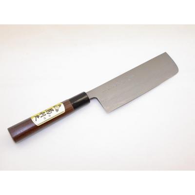 菊利久 菜切包丁165mm 墨流