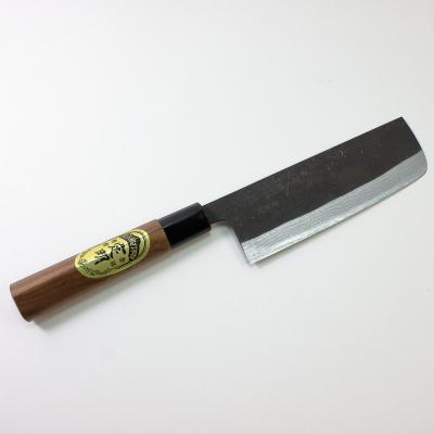 定明 黒刃紋 菜切包丁165mm