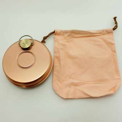 銅ミニ湯たんぽ 袋入